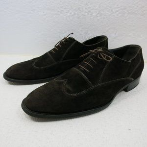 Giorgio Armani Suede Leather Dress Oxfords Shoes
